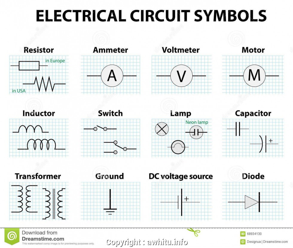 Excellent Common Wiring Diagram Symbols New Basic Circuit Diagram Symbols | Wiring