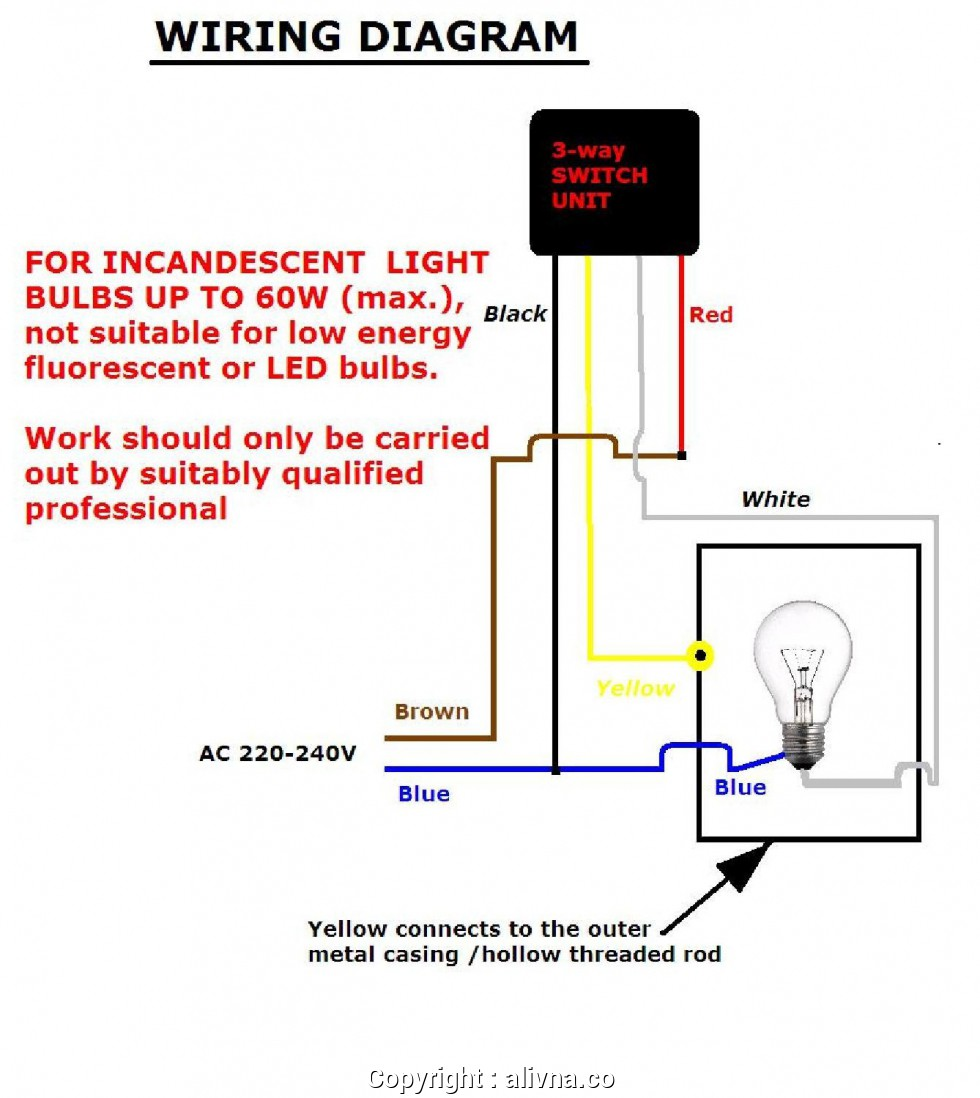 Excellent Touch Lamp Wiring Diagram For Light Switch With Dimmer New