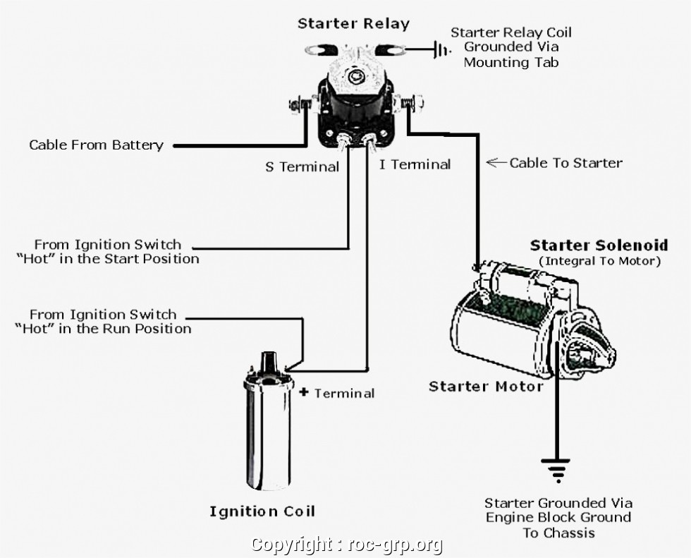latest 12v starter solenoid wiring diagram ford starter wiring rh jeffhandesign info 12v starter relay wiring diagram 3 Wire Solenoid Wiring Diagram