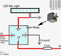 Best Led Bar Wiring Diagram Led Light Bar Wiring Diagram - Techrush.Me