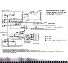 Clever Straight Blade Plug Wiring Diagram Straight Blade Setup Adding Multiplex Wiring For Xtreme V | PlowSite