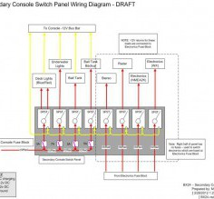 Excellent Wiring Diagram For Boat Switch Panel 12V Switch Panel Wiring Diagram 5 Wire Switch Wiring Diagram