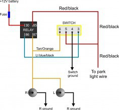 Expert Light Switch To Light Wiring Diagram Mustang Driving Light Wiring Diagram - Wiring Data