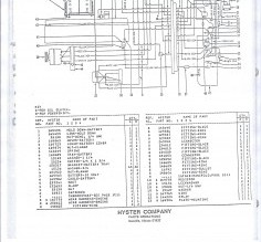 Good Hyster Forklift Wiring Diagram Hyster 30 Forklift Wiring Diagram - WIRE Center •