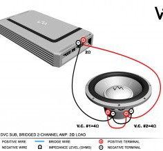 Useful Kicker Subwoofer Wiring Diagram Kicker Subwoofer Wiring Diagram Dual Voice Coil Speaker New Dvc